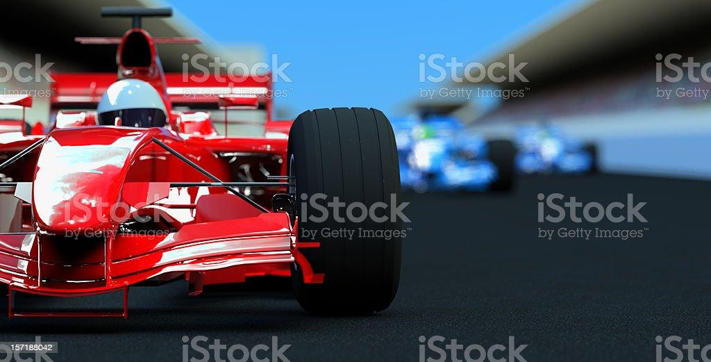 Racing Cars royalty-free stock photo