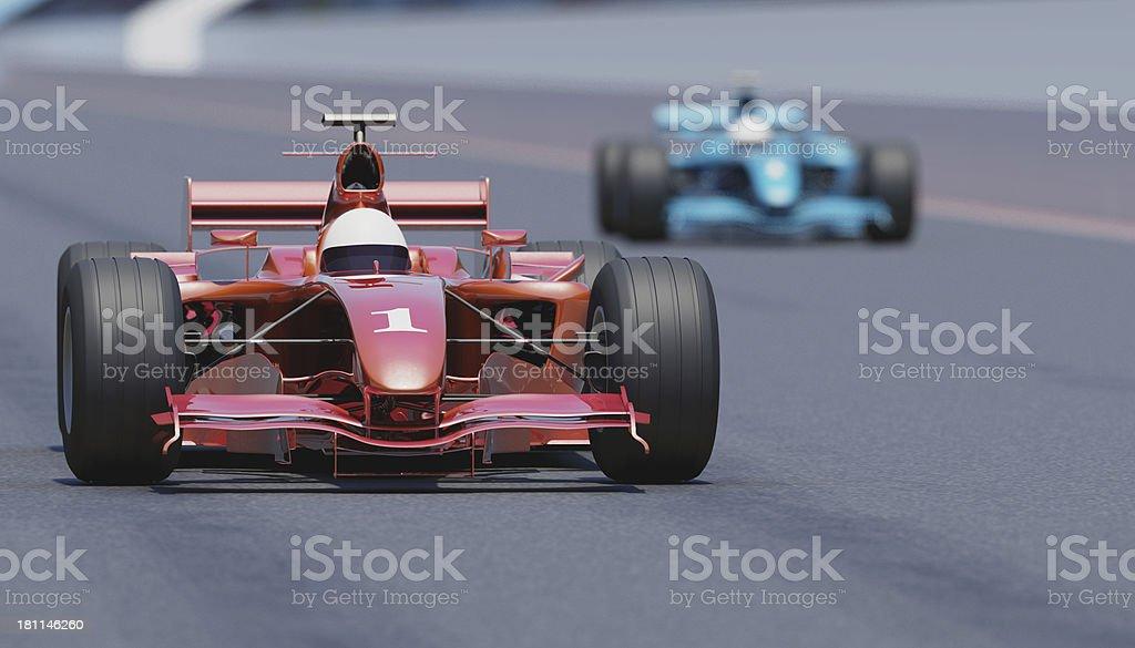 Racing Cars stock photo