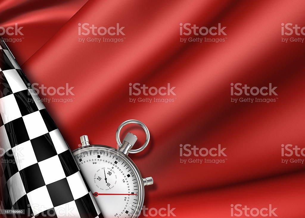 Racing chrono royalty-free stock photo