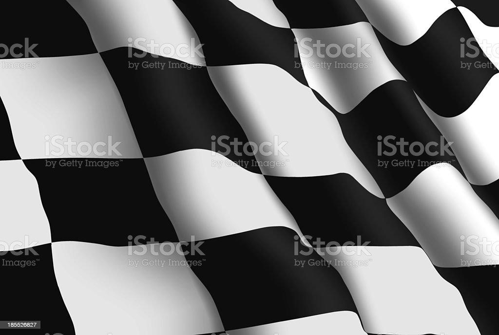 Racing Flag Wallpaper royalty-free stock photo