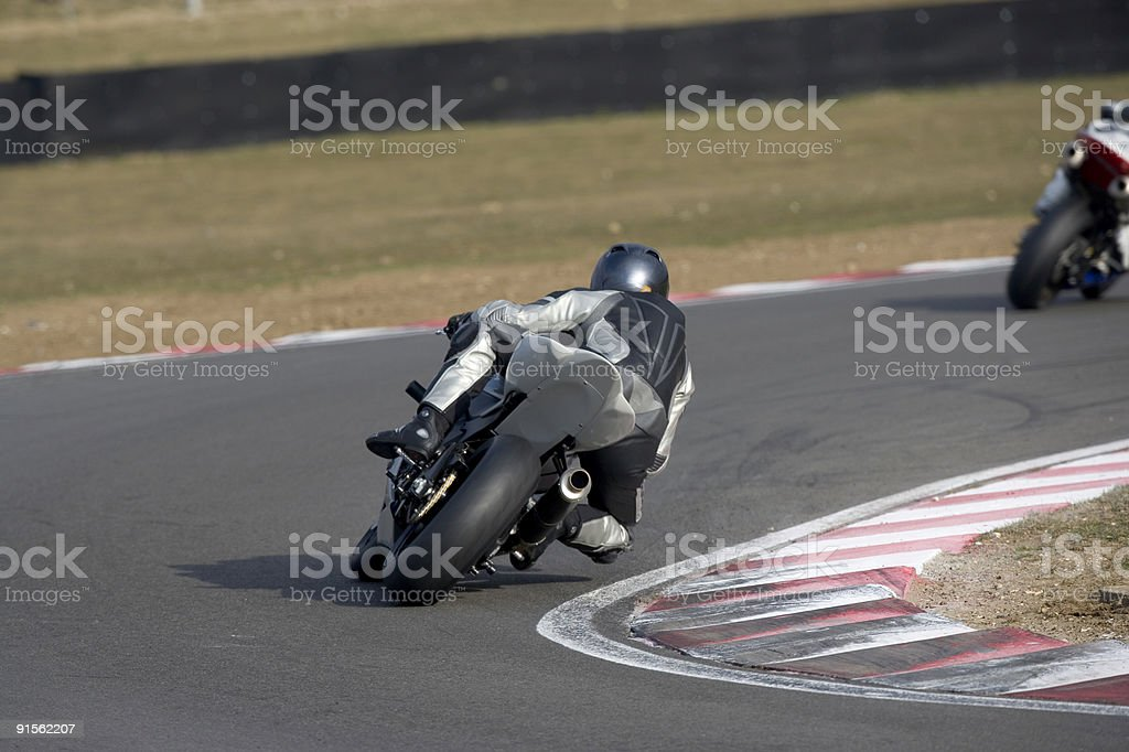 Racing Motorbike royalty-free stock photo