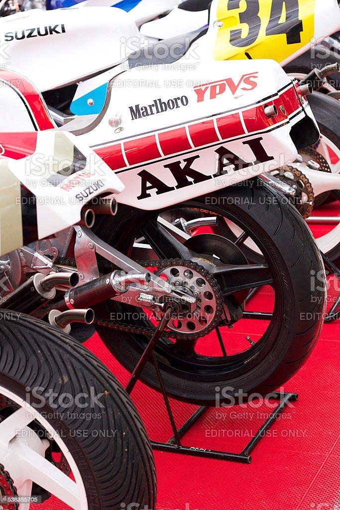 Racing motociclette, U. K foto stock royalty-free