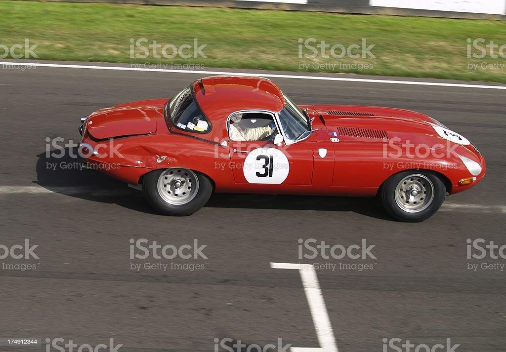 Racing Red 31 stock photo