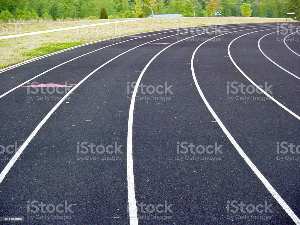 Racing Track royalty-free stock photo