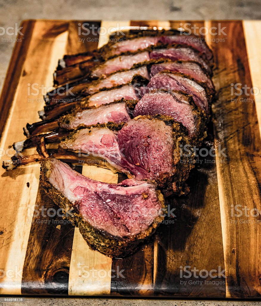 Rack Of Lamb Rare stock photo