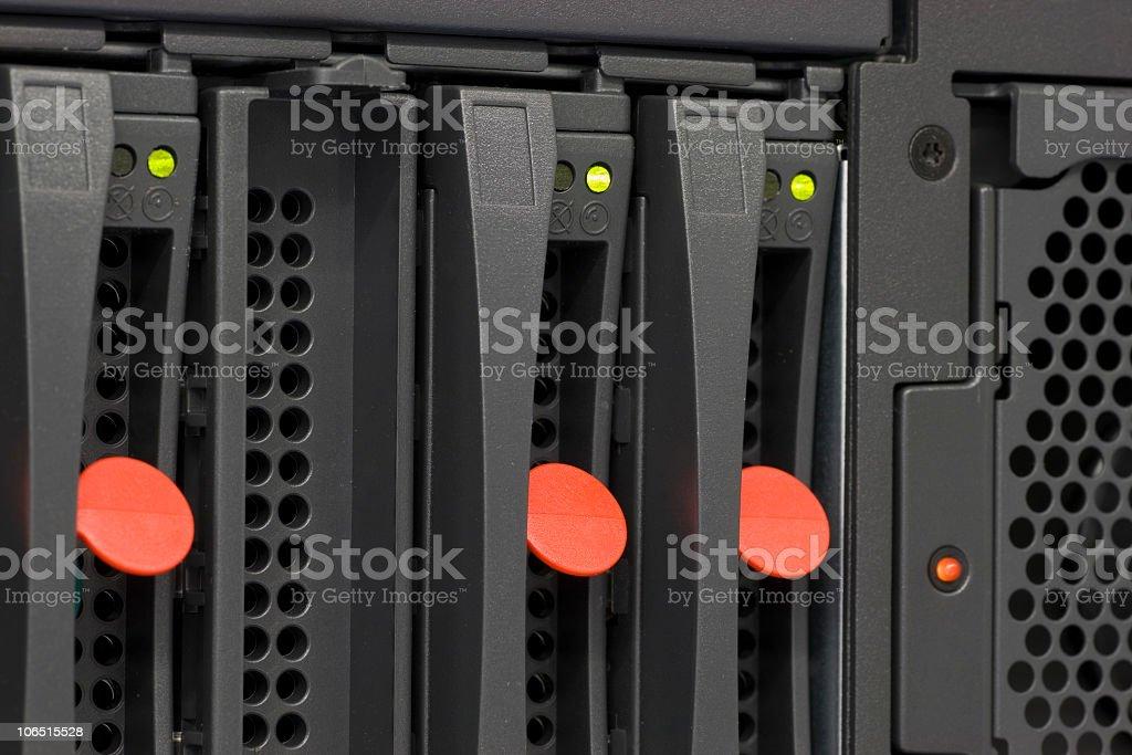 Rack Server stock photo