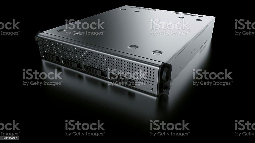 Rack server royalty-free stock photo