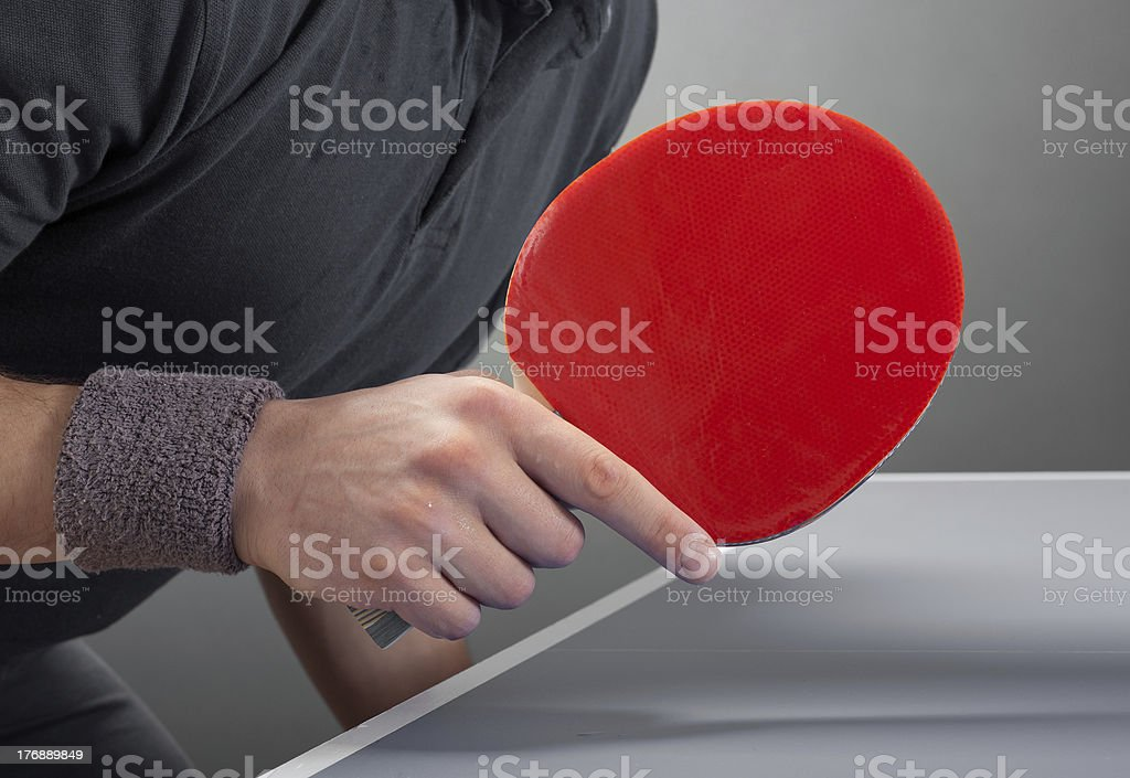 Racket stock photo