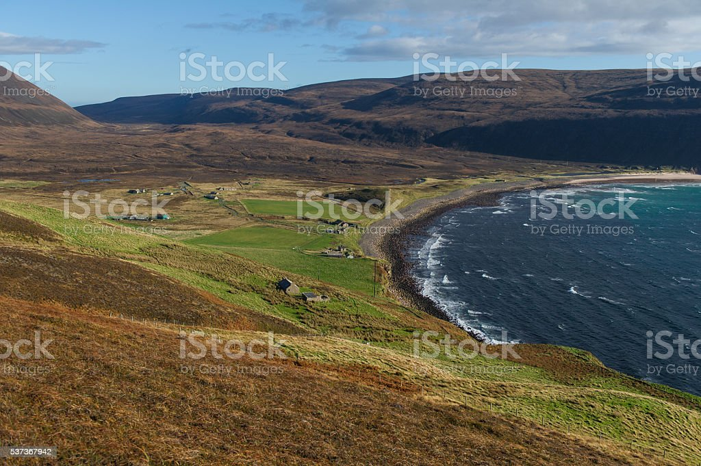 Rackwick bay, Isle of Hoy, Orkney islands, Scotland stock photo