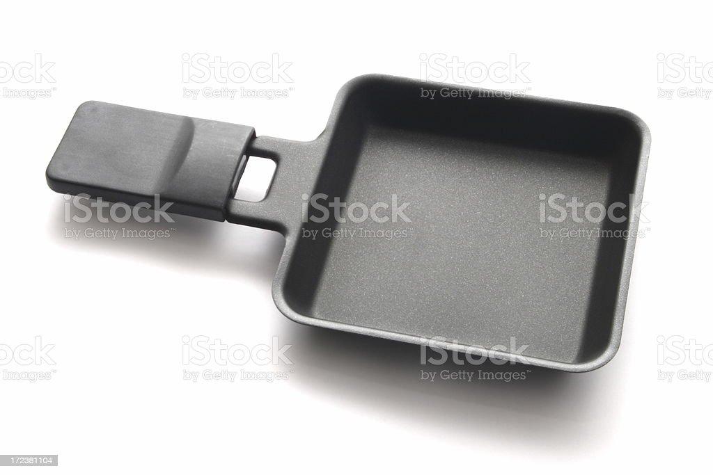 Raclette Pan stock photo