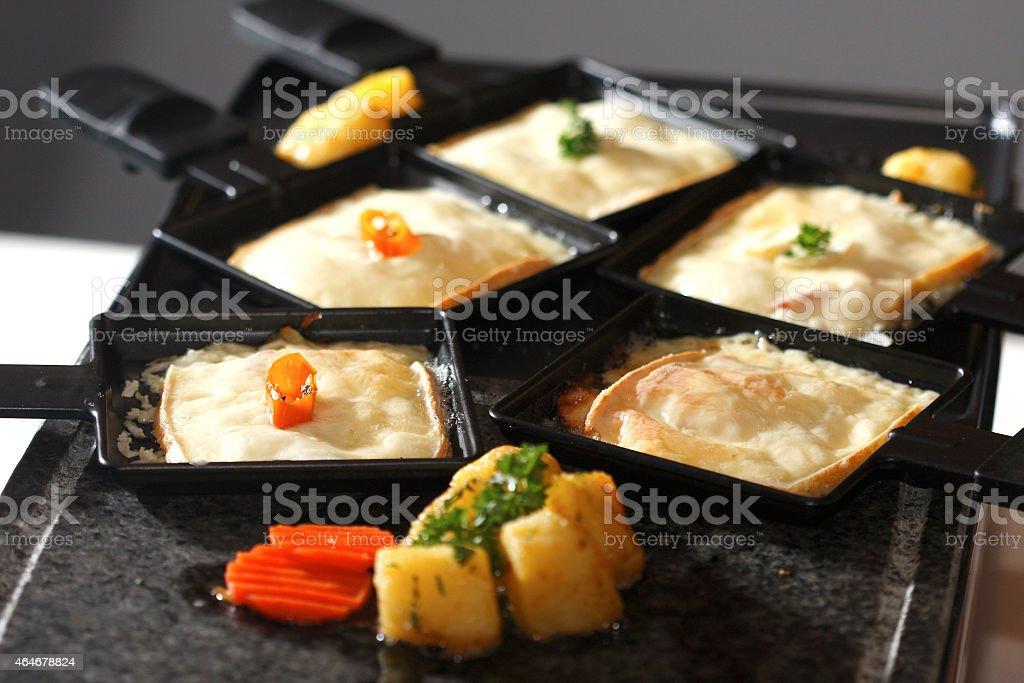 Raclette stock photo