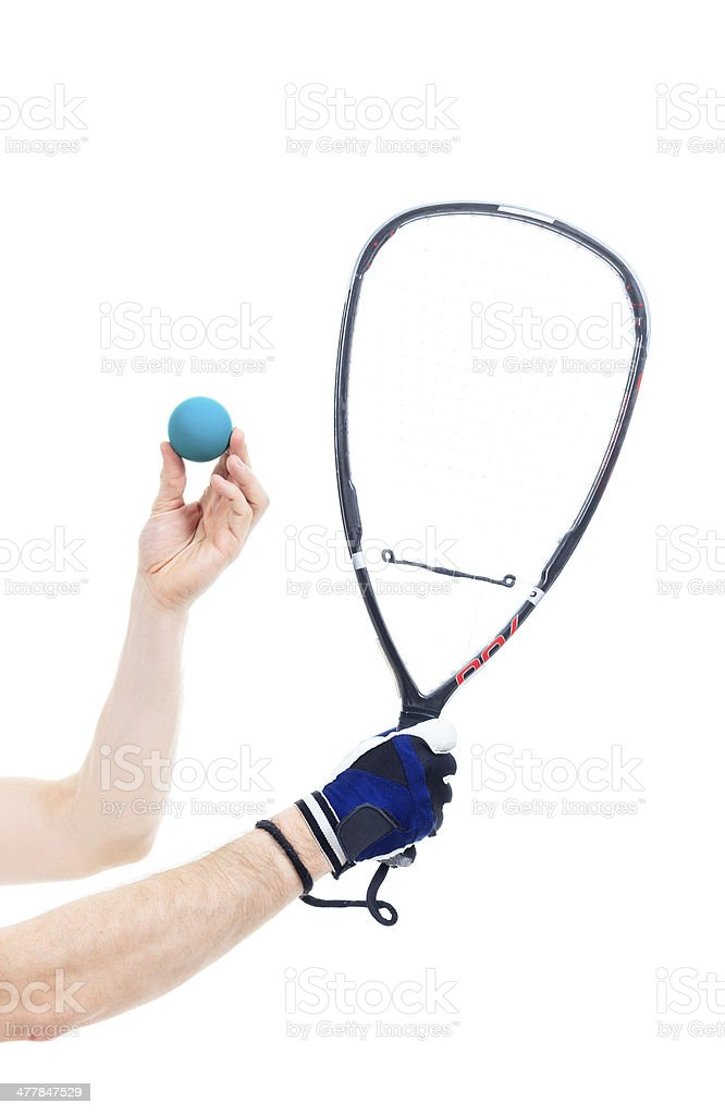 Racquetball Ball royalty-free stock photo