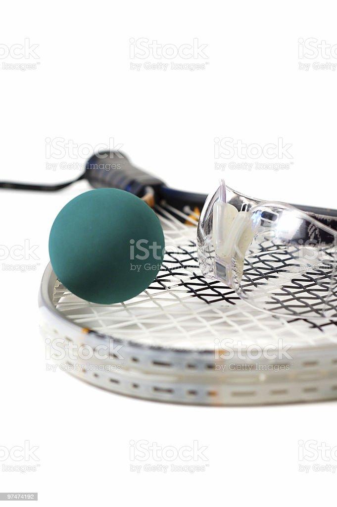 Racquetball Gear stock photo