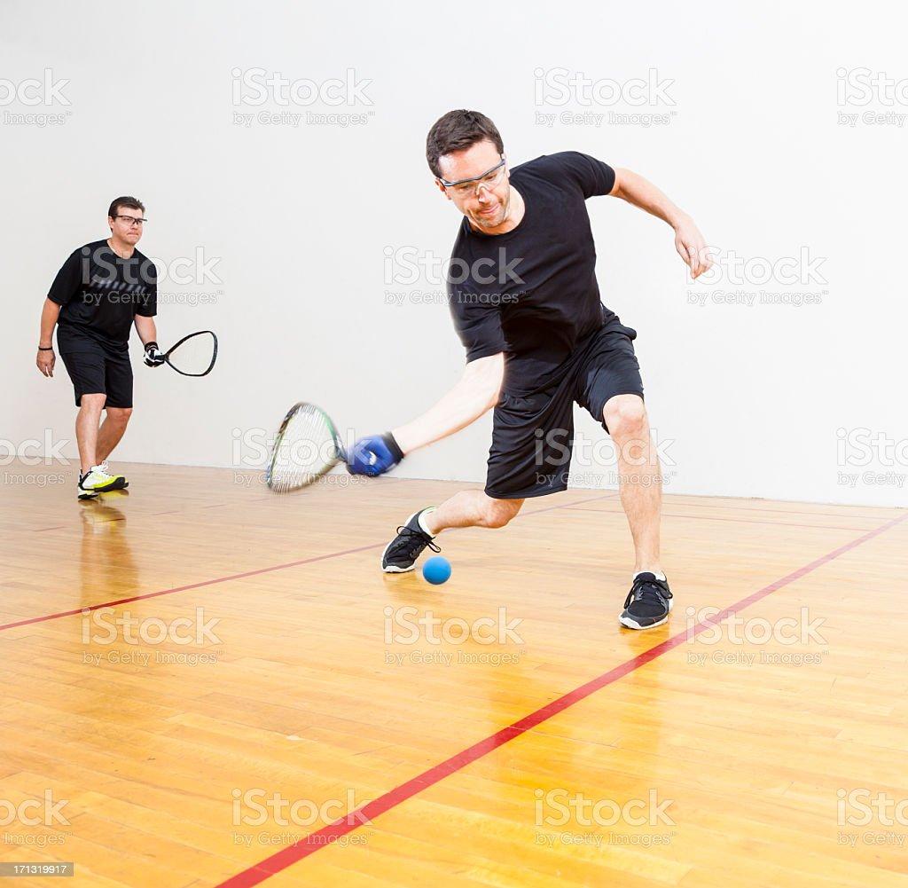 Racquetball stock photo