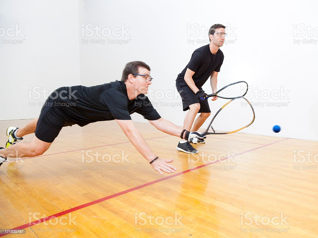 Racquetball stock photo