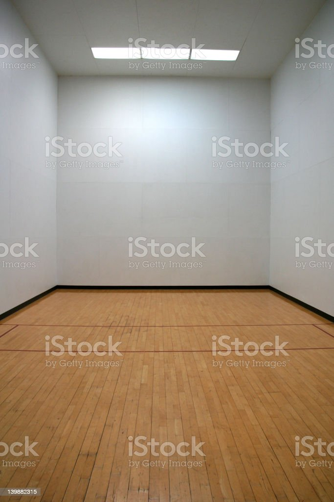 Racquetball Time royalty-free stock photo