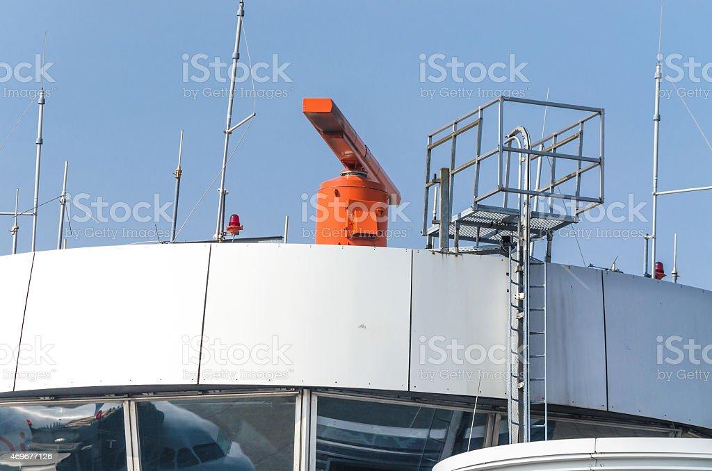 Radar Airport stock photo