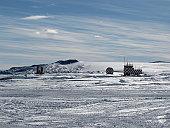 Radar equipment in Antarctica