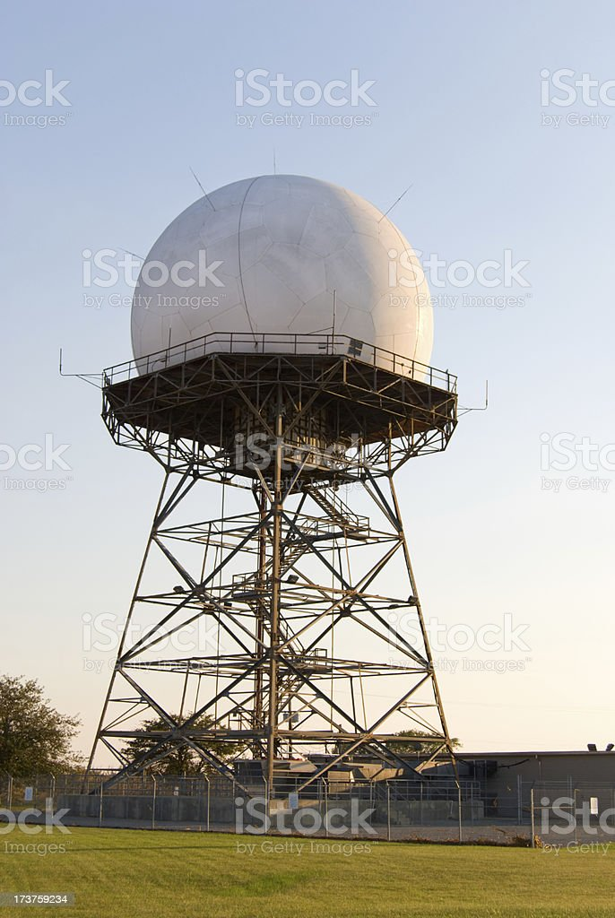 Radar royalty-free stock photo