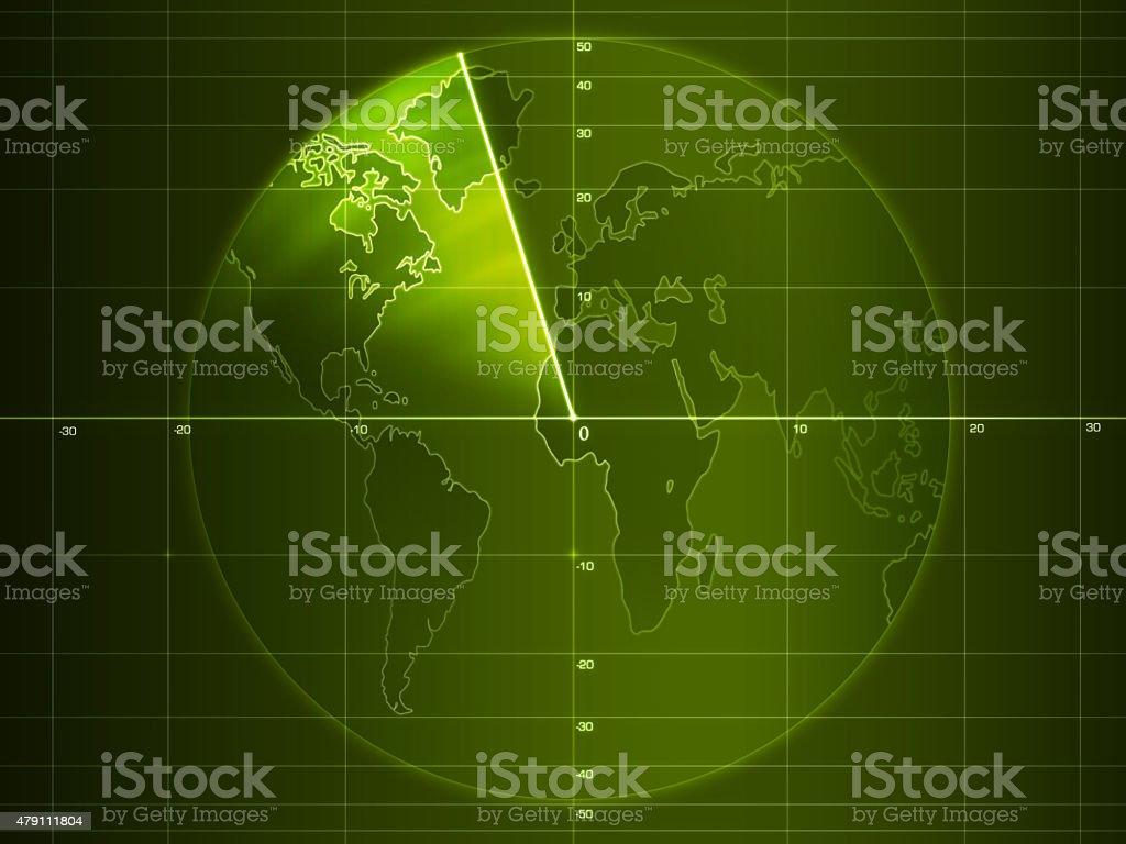 Radar stock photo