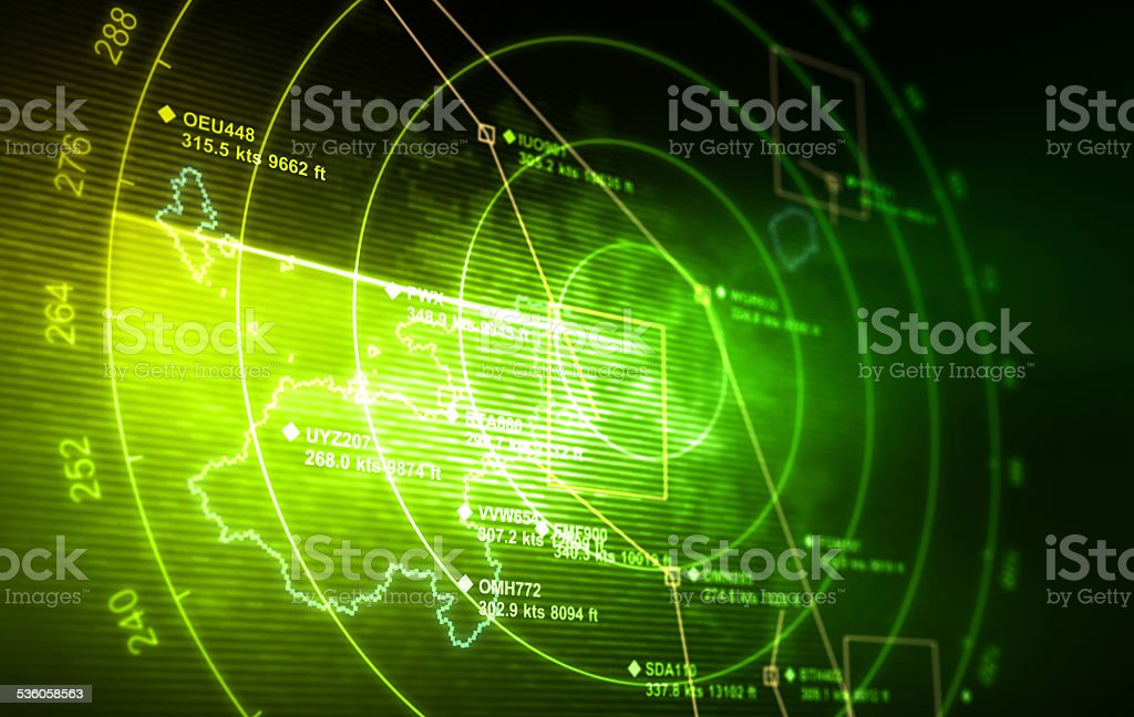 Radar stock photo