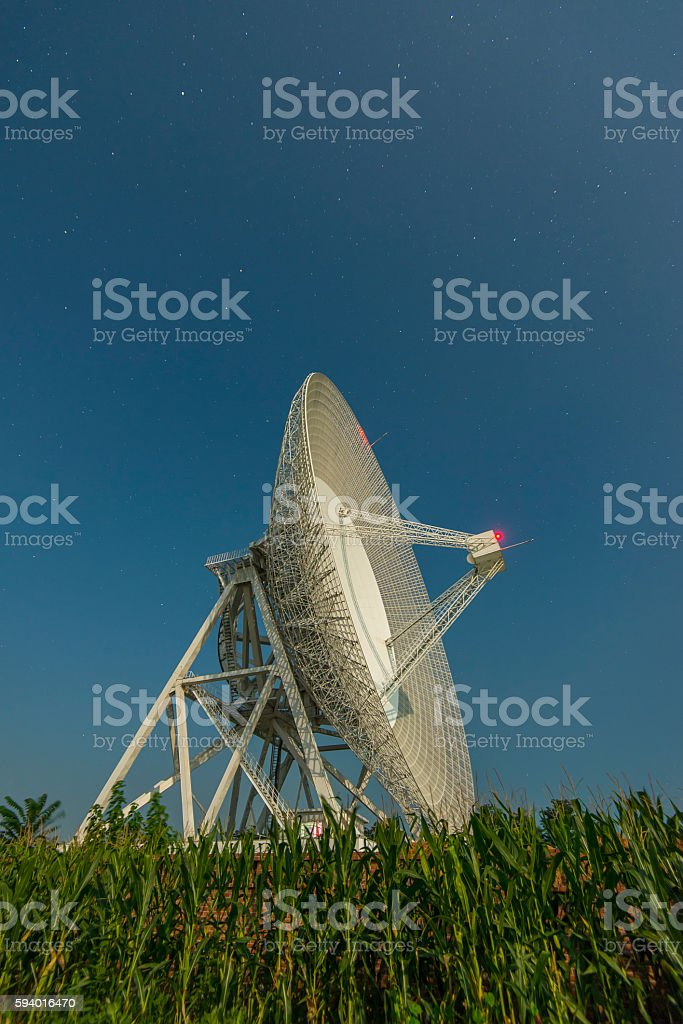 radar station stock photo