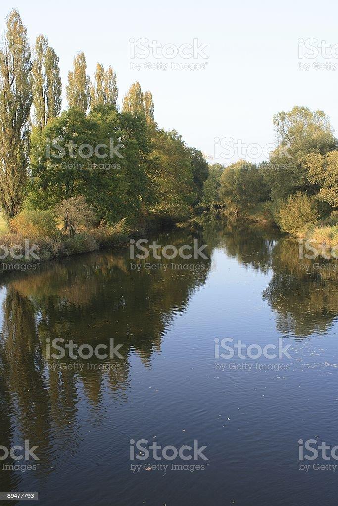 Radbuza River royalty-free stock photo