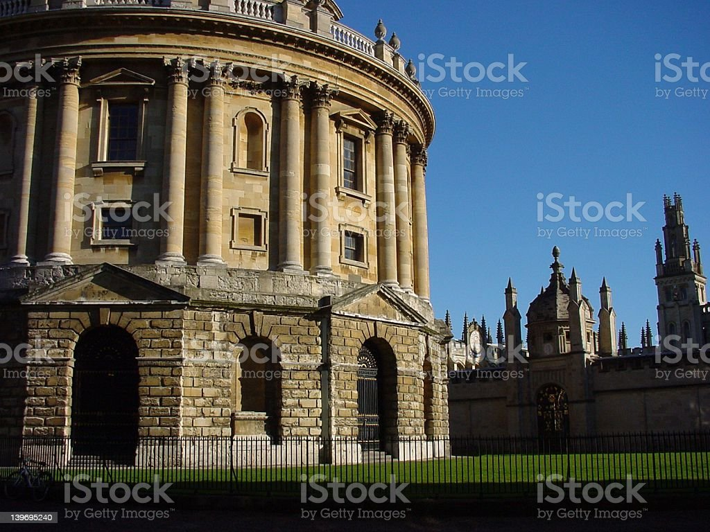 Radcliffe Camera and All Souls royalty-free stock photo