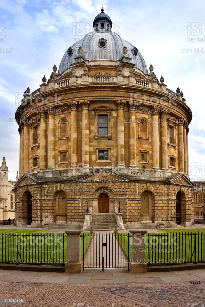 Radcliffe Camera Building - Oxford - Great Britain stock photo