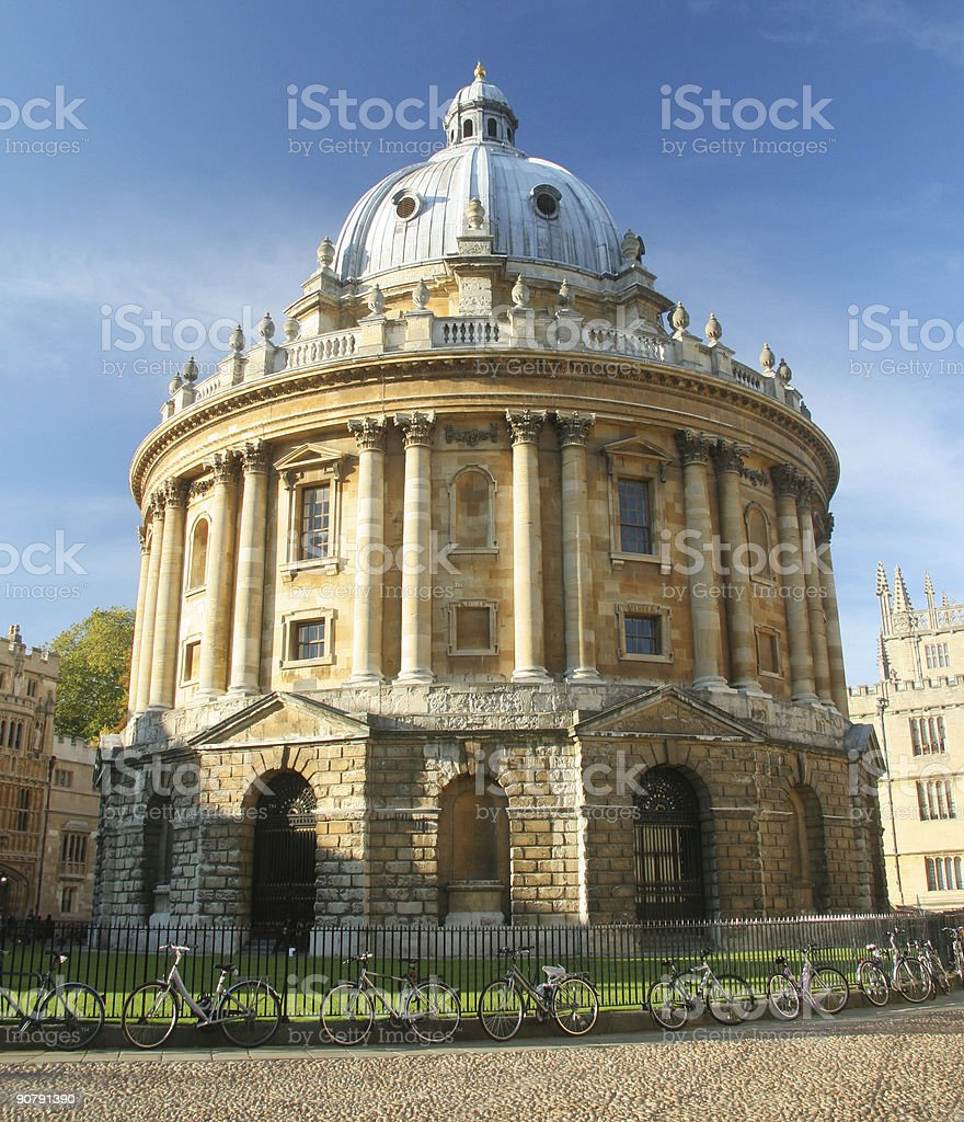 Radcliffe Camera, Oxford stock photo