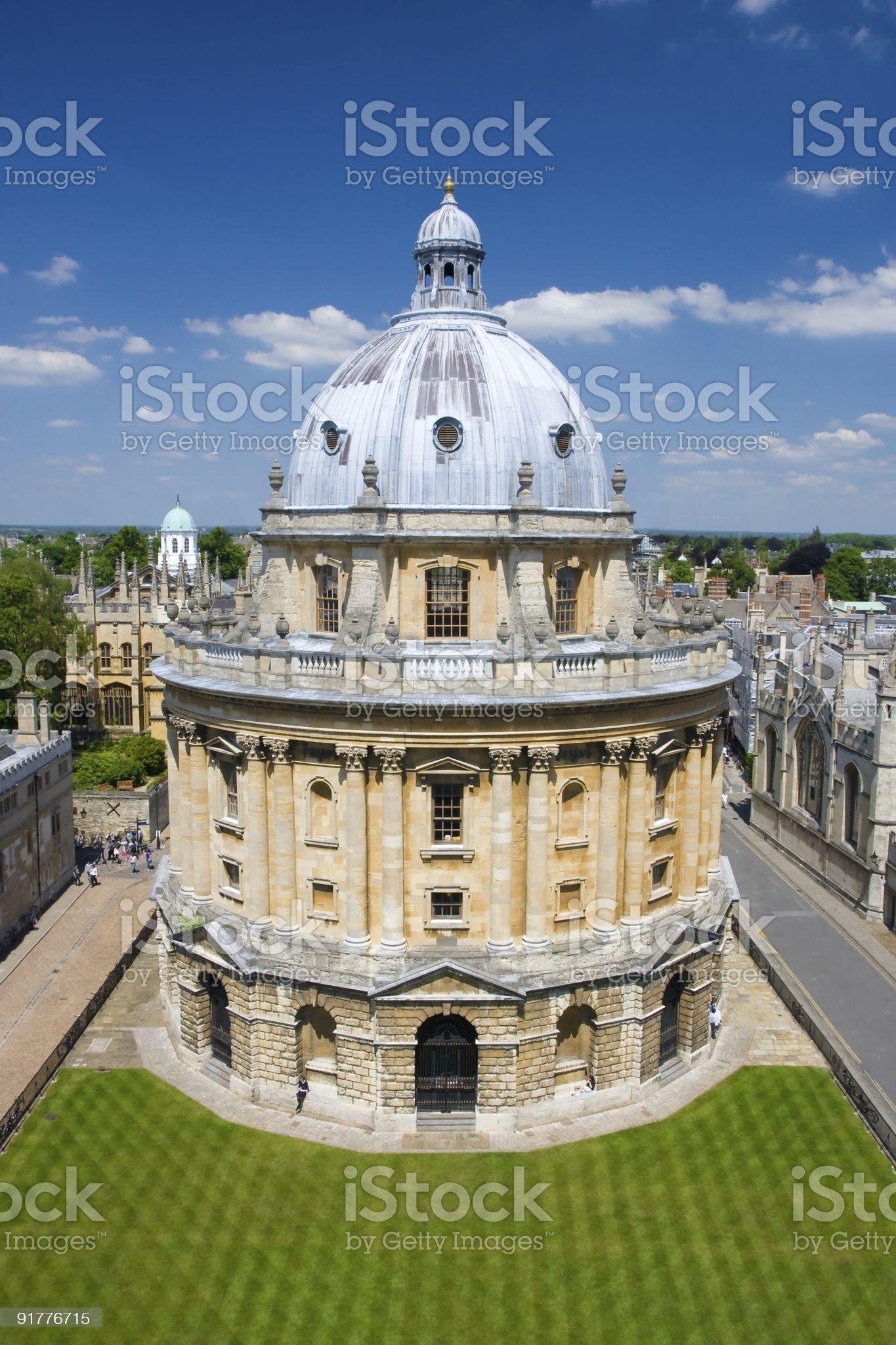 Radcliffe Camera Oxford royalty-free stock photo