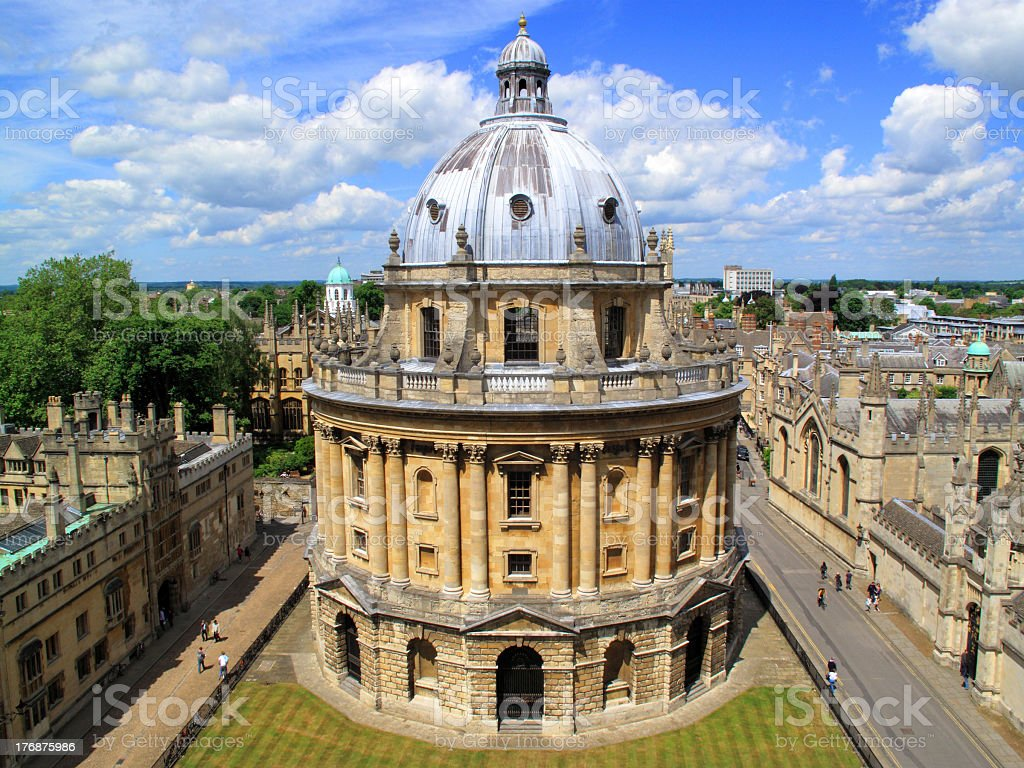 Radcliffe Camera, Oxford University royalty-free stock photo