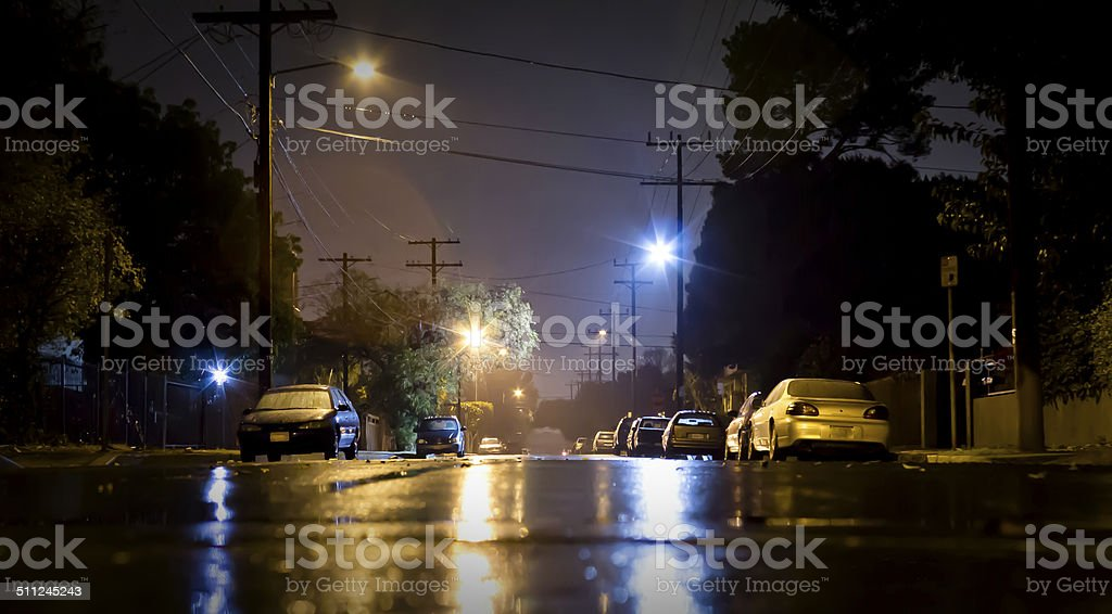Radford by Night 142am stock photo