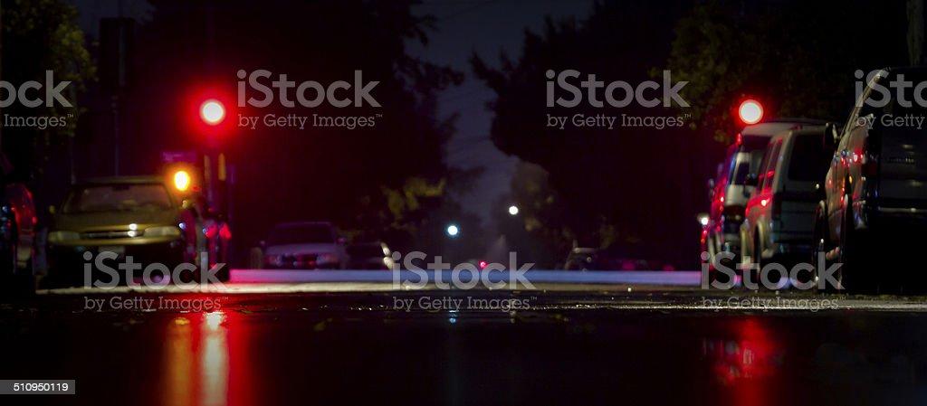 Radford by Night stock photo