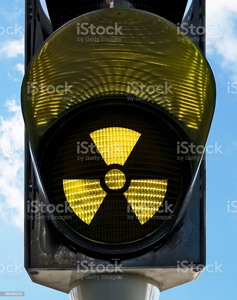radiactiv stock photo