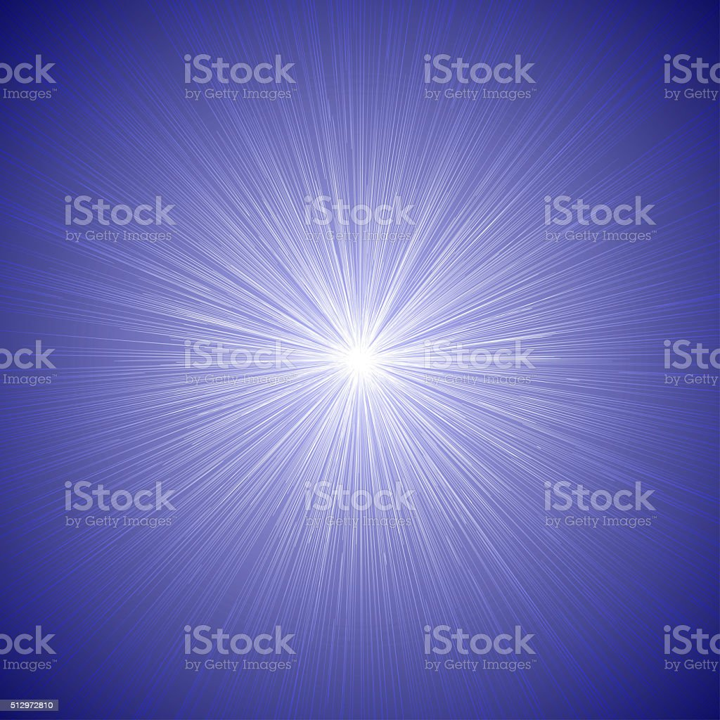 Radial Speed Lines Graphic Effects Background Blue 01 stock photo