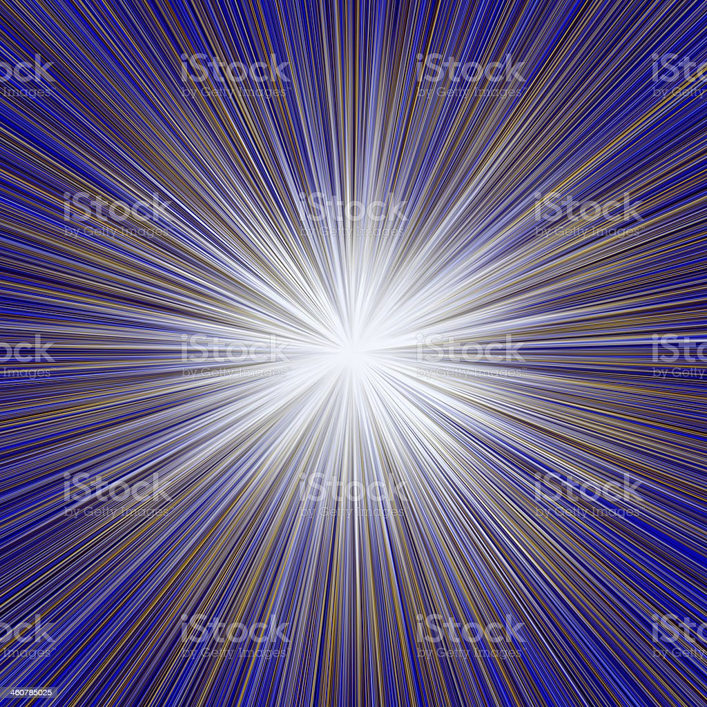 Radial Sunburst royalty-free stock photo