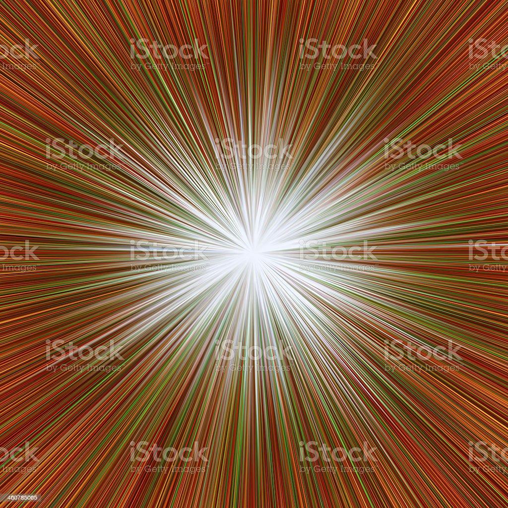 Radial Sunburst royalty-free stock photo