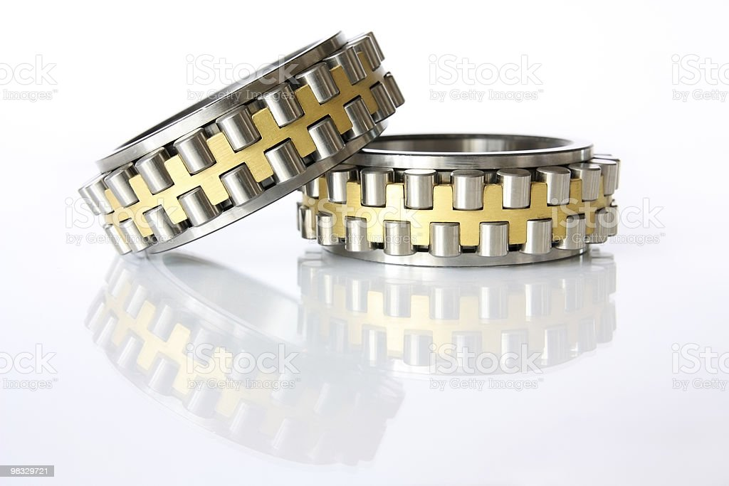 Radial - thrust bearings stock photo