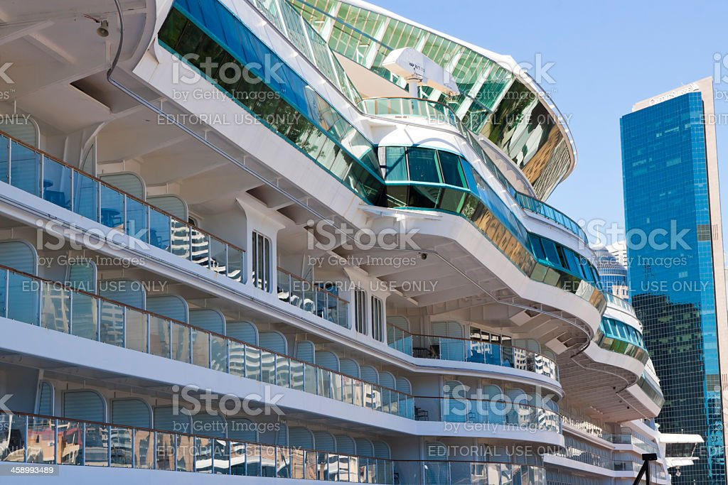 Radiance of The Seas royalty-free stock photo