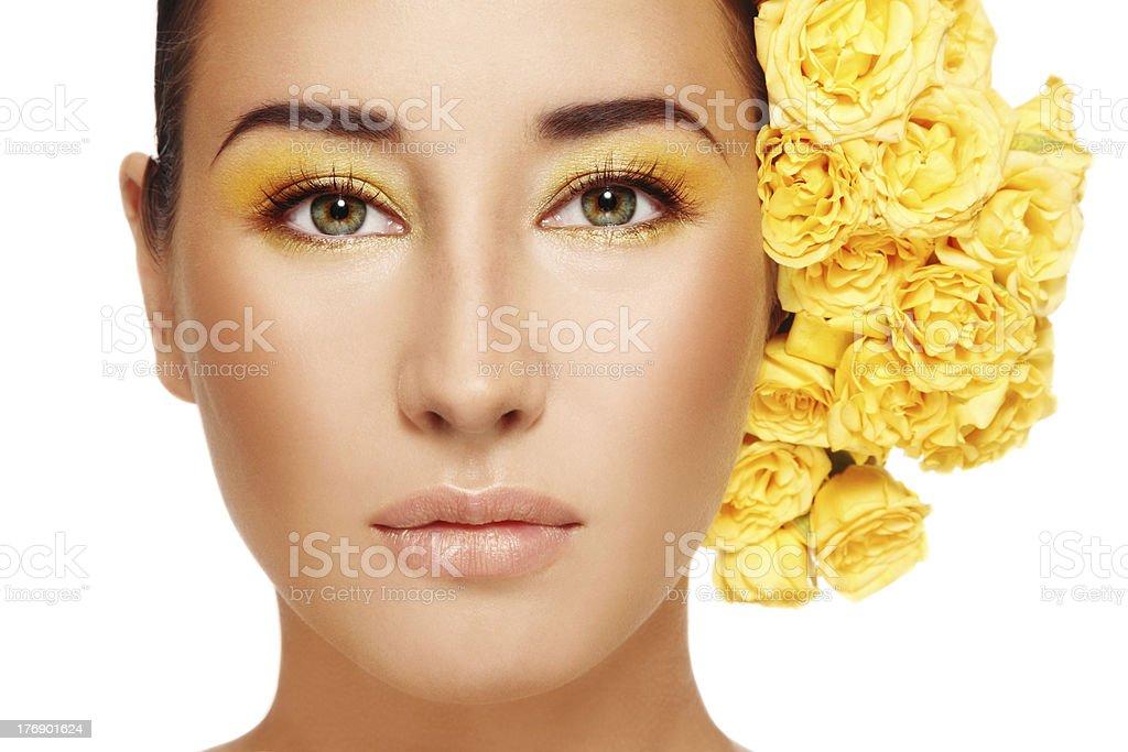 Radiant beauty royalty-free stock photo