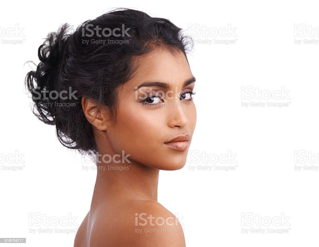 Radiant beauty stock photo
