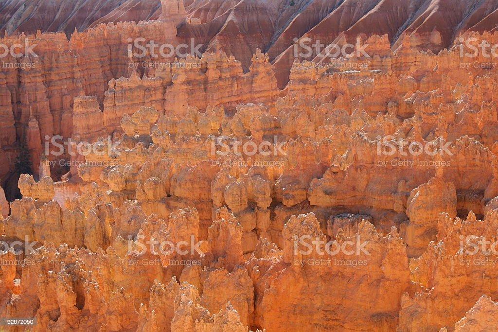 Radiant Spires Texture stock photo
