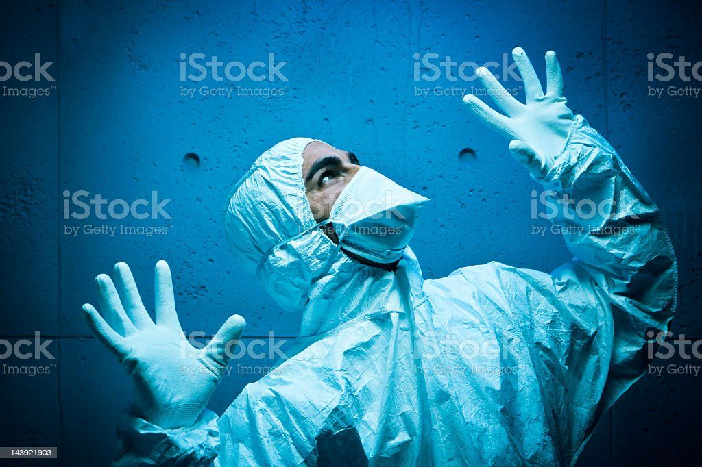 Radiation alert: Danger royalty-free stock photo