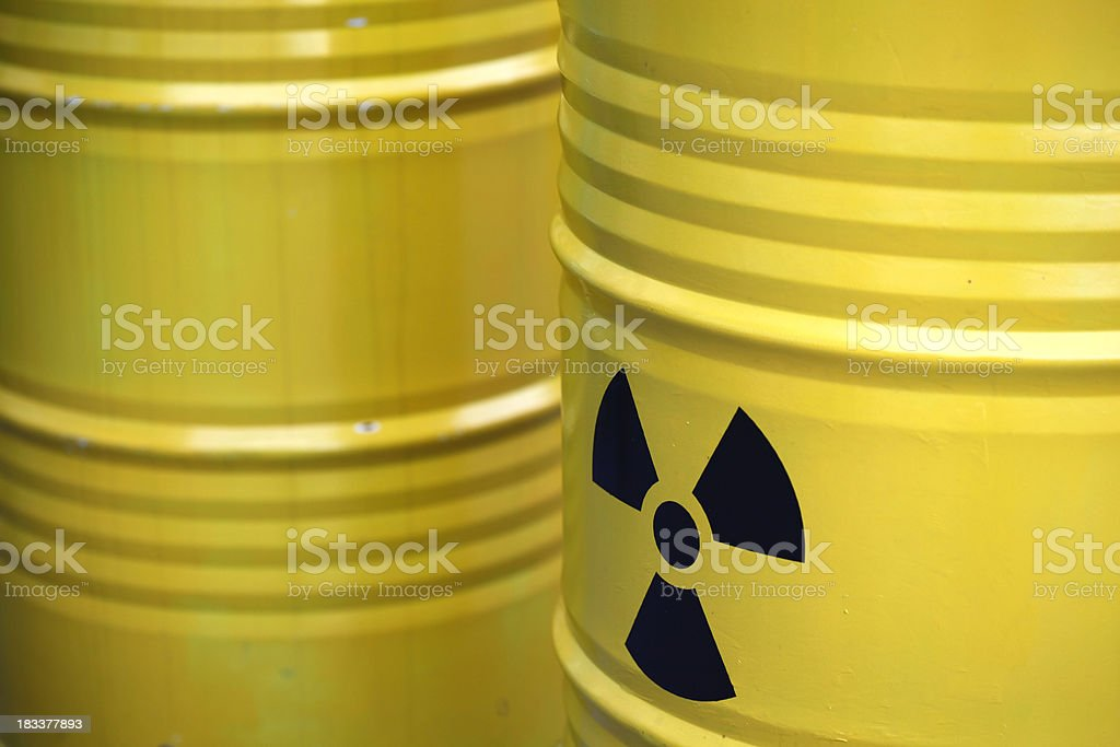 Radiation sign royalty-free stock photo