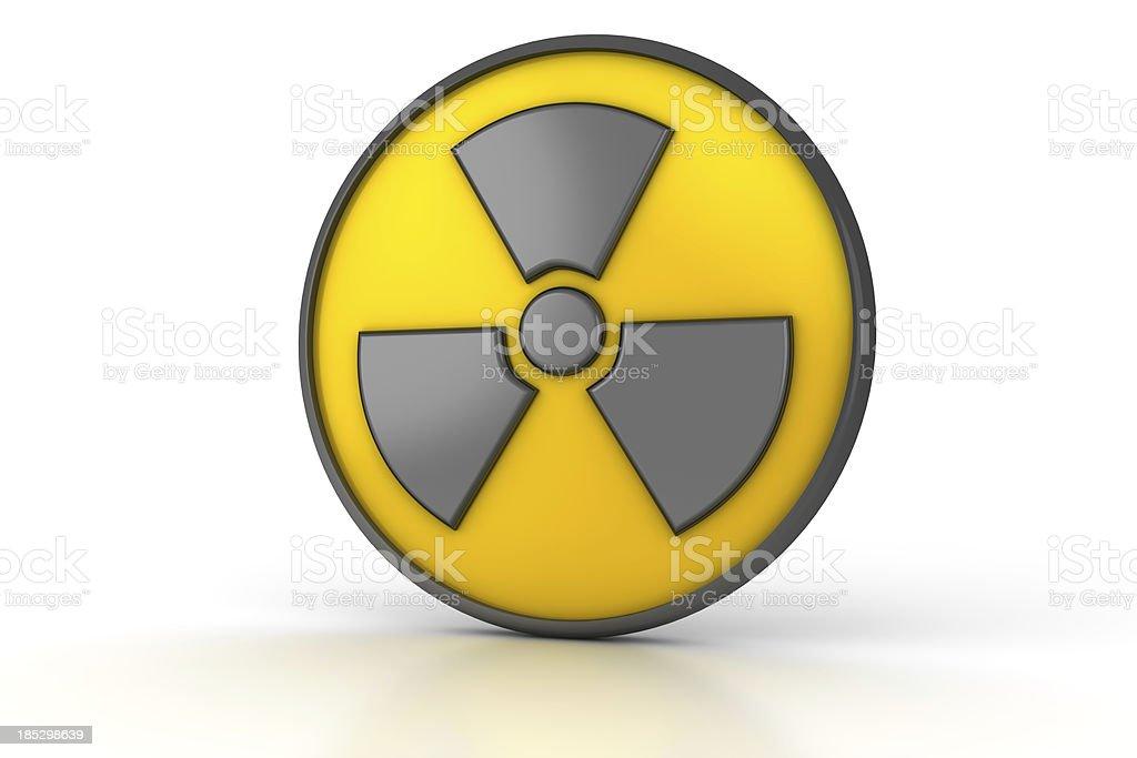 Radiation Symbol royalty-free stock photo