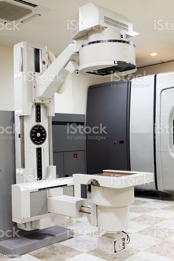 Radioaktive Strahlung Therapie-Maschine Lizenzfreies stock-foto