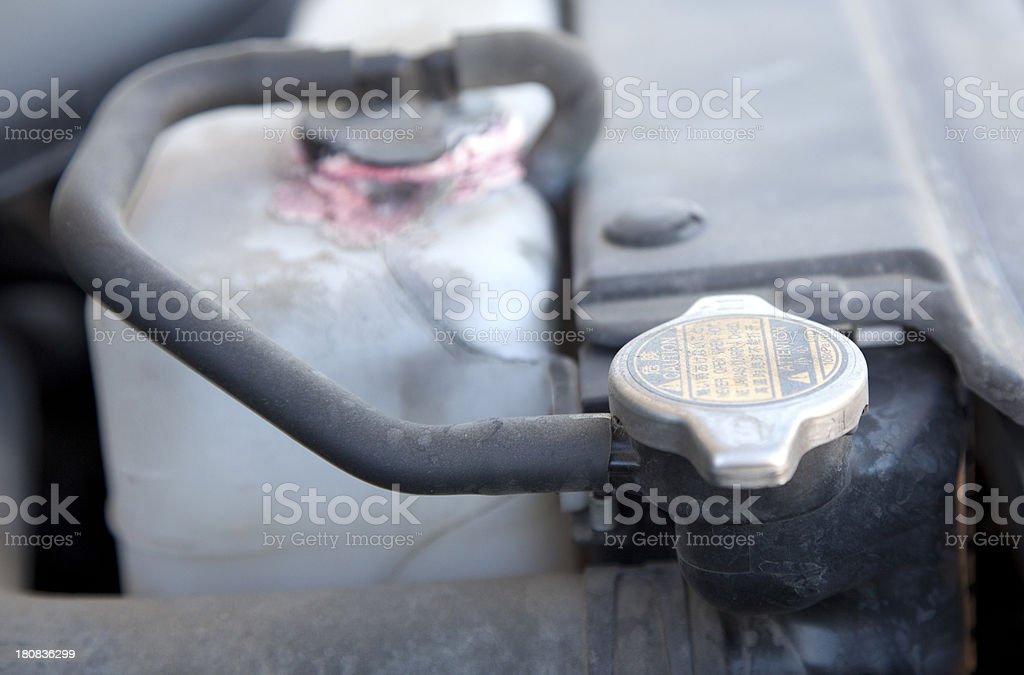 Radiator cap stock photo