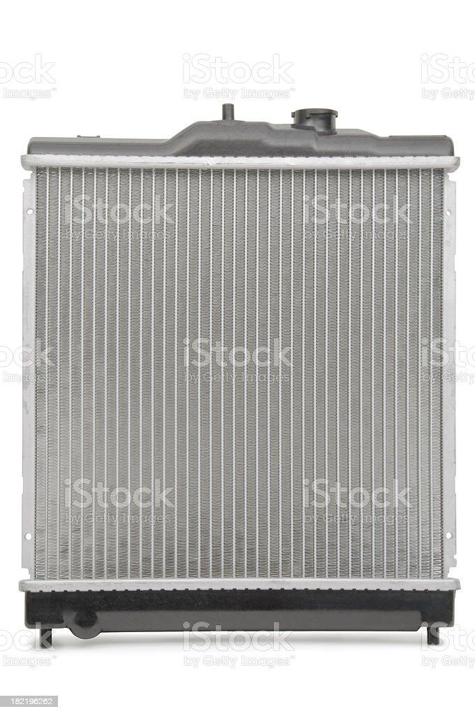 Radiator isolated on white royalty-free stock photo