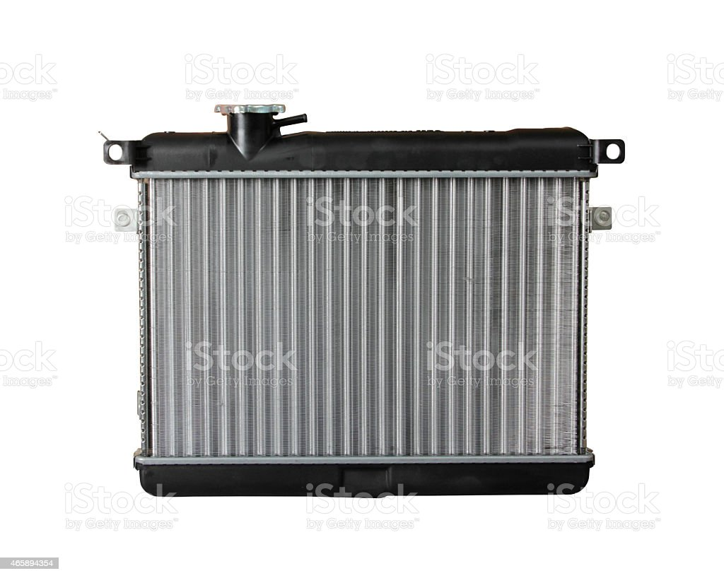 Radiator stock photo
